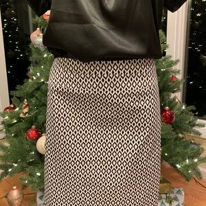 Abstract Print Skirt by Donna Ricco Size 12 NWOT
